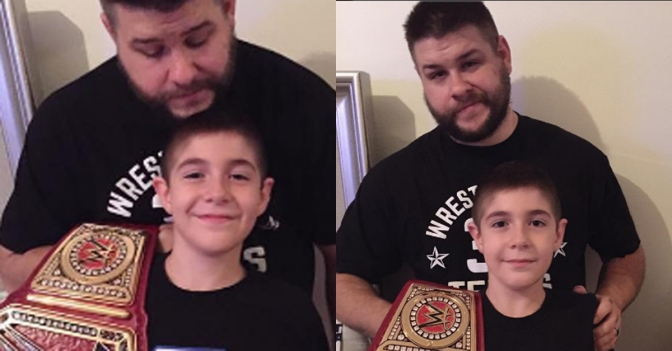 Kevin Owens: Father of the Year